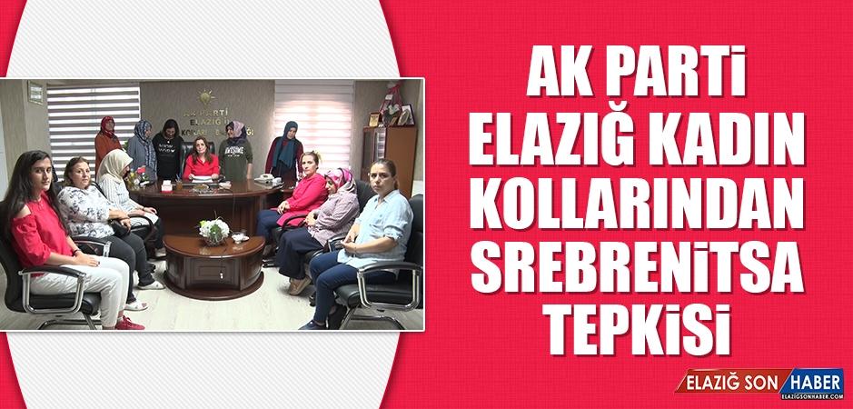 AK Parti Elazığ Kadın Kollarından Srebrenitsa Tepkisi