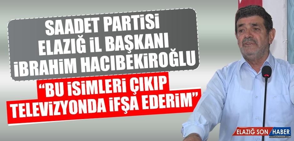 Başkan Hacıbekiroğlu'ndan Sert Açıklama