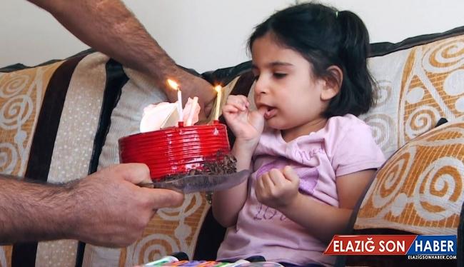 Beyincik erimesi hastası minik Aysima için yardım bekleniyor