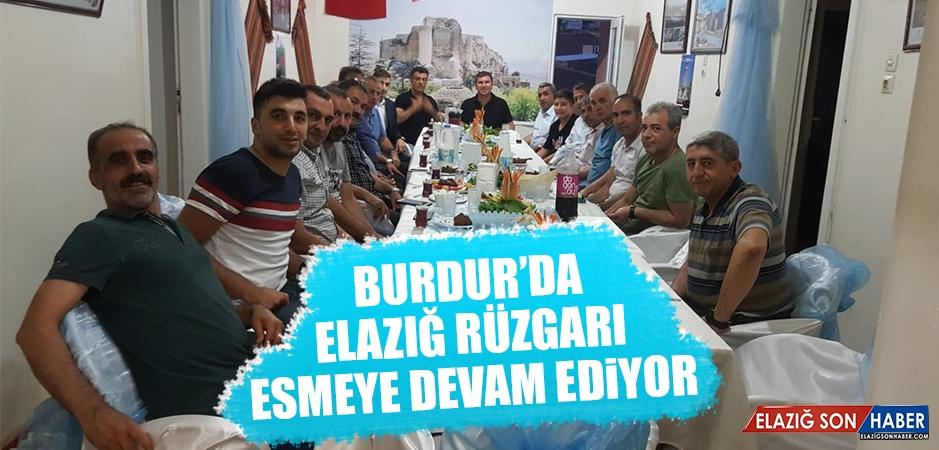 Burdur'da Elazığ Rüzgarı Esmeye Devam Ediyor