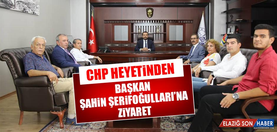 CHP Heyetinden, Başkan Şerifoğulları'na Ziyaret