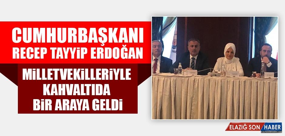 Cumhurbaşkanı Erdoğan, Milletvekilleriyle Toplantı Yaptı