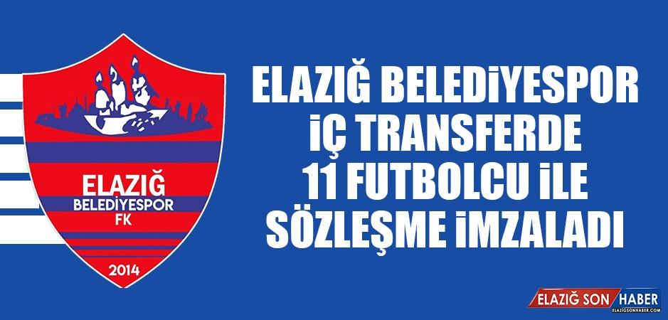 Elazığ Belediyespor İç Transferde 11 Futbolcu İle Sözleşme İmzaladı
