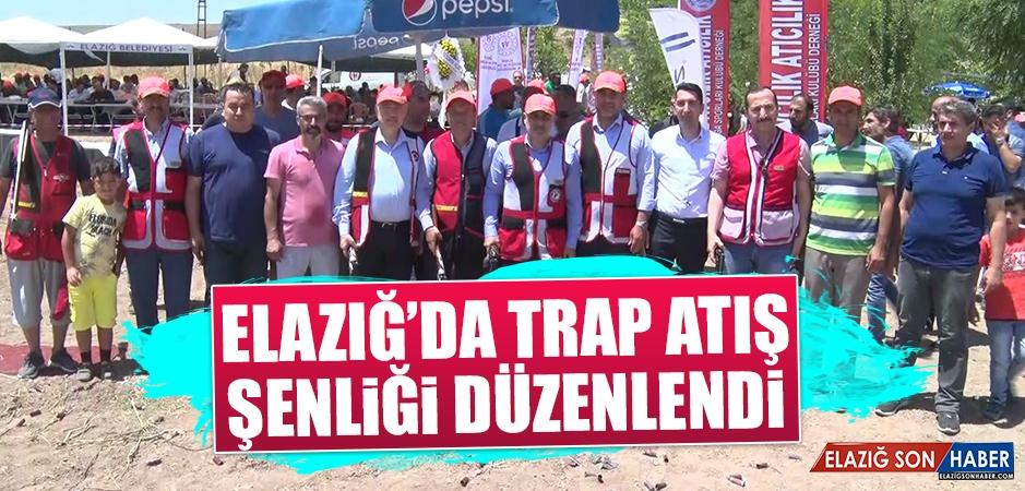 Elazığ'da Trap Atış Şenliği Düzenlendi
