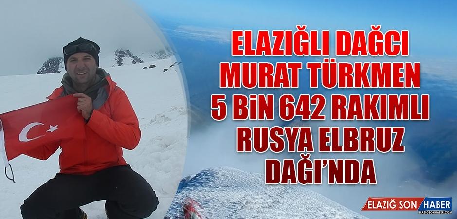 Elazığlı Dağcı Türkmen Elbruz Dağlarında