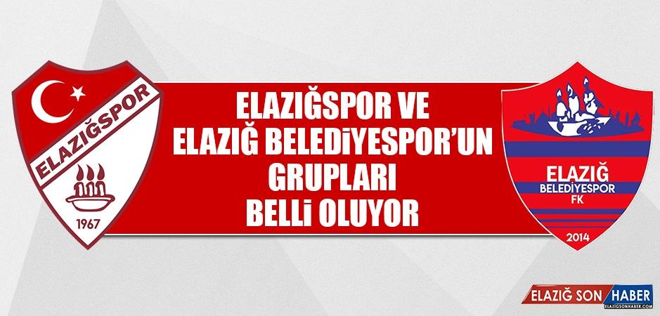 Elazığspor ve Elazığ Belediyespor'un Grupları Belli Oluyor