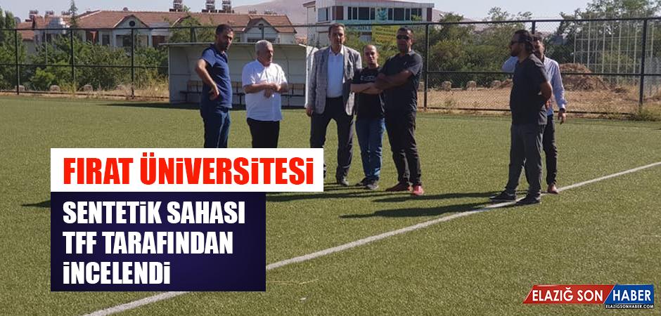 Fırat Üniversitesi Sentetik Sahası TFF Tarafından İncelendi