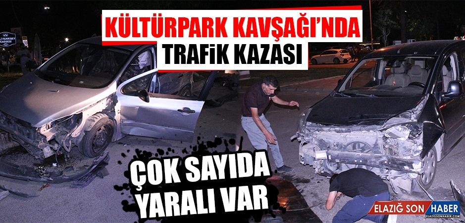 Kültürpark Kavşağı'nda Trafik Kazası