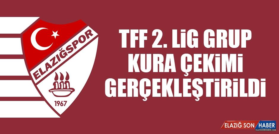 TFF 2. Lig Grup Kura çekimi bugün gerçekleştirildi
