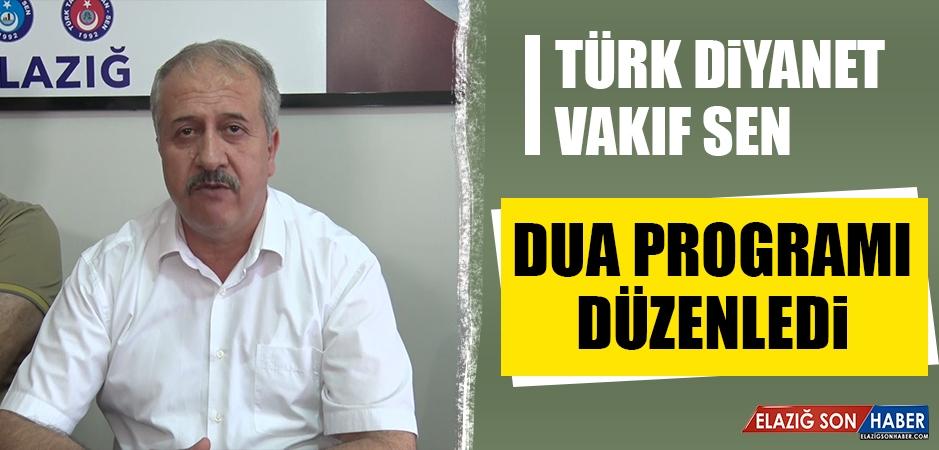 Türk Diyanet Vakıf Sen'den Dua Programı