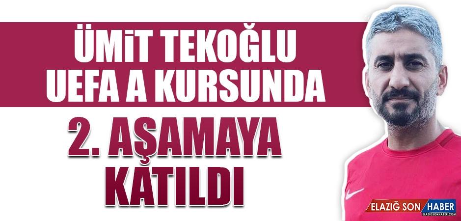 Ümit Tekoğlu, UEFA A Kursunda