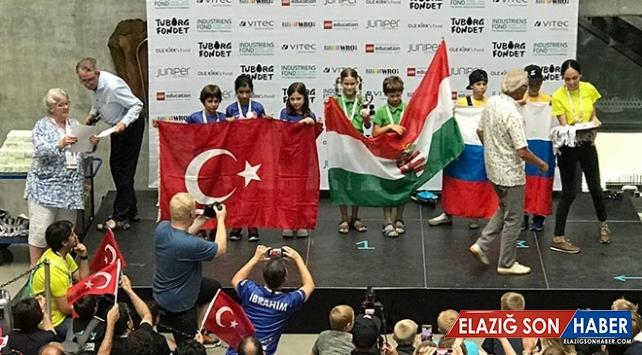 BİLSEM öğrencileri Dünya Robot Olimpiyatları'nda ikinci oldu