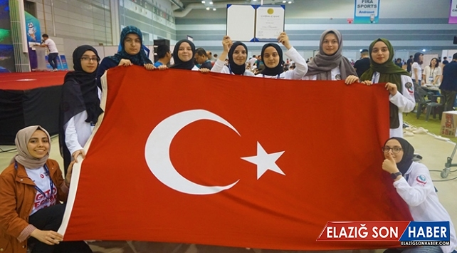 Dünya Robotik Yarışması'nda Türkiye takımı 3. oldu