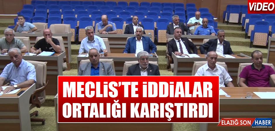 Mecliste İddialar Ortalığı Karıştırdı