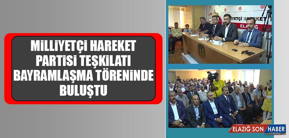MHP Teşkilatı Bayramlaşma Töreninde Buluştu