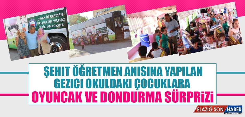 Tunceli'de Çocuklara Oyuncak ve Dondurma Sürprizi