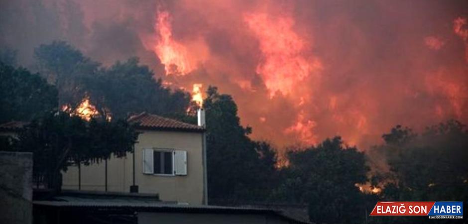 Yunanistan'da alevler yükseliyor! Evia adasında olağanüstü hal ilan edildi