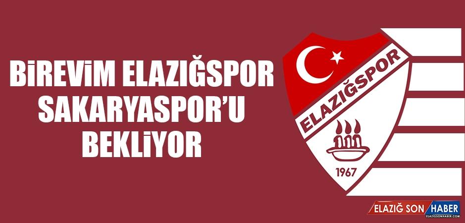 Birevim Elazığspor, Sakaryaspor'u Bekliyor