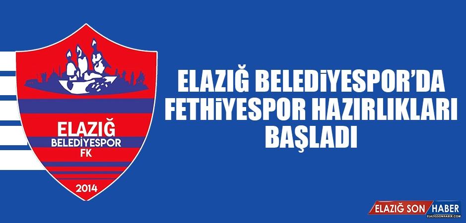 E.Belediyespor'da Fethiyespor Hazırlıkları Başladı