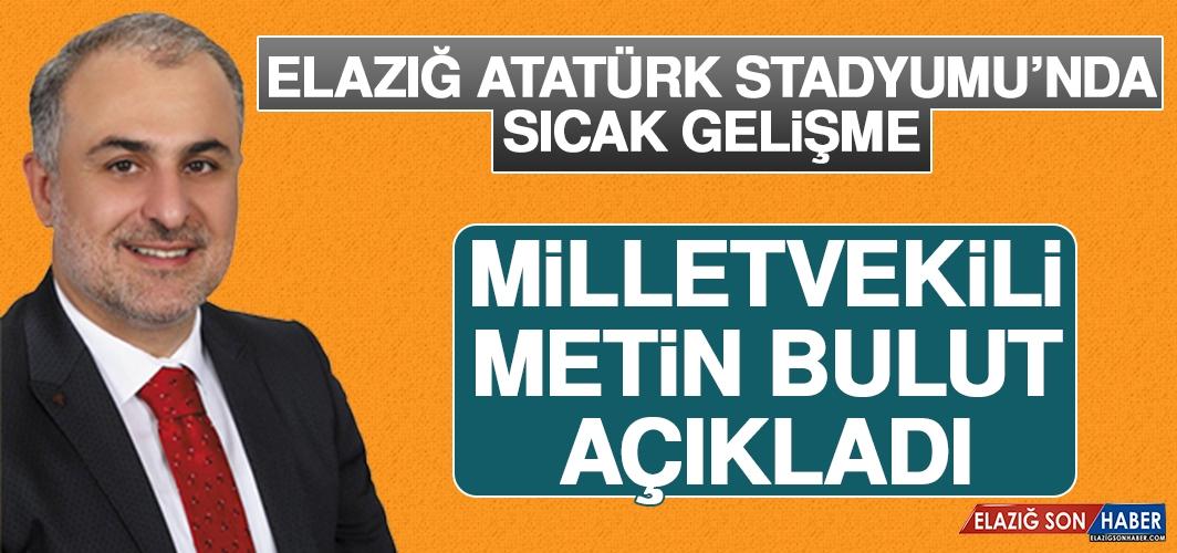 Elazığ Atatürk Stadyumu'nda Sıcak Gelişme