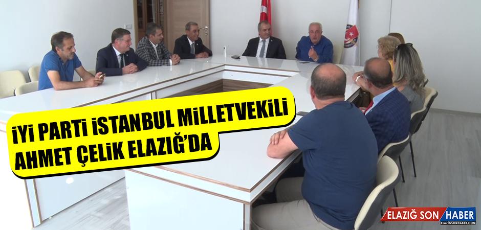İYİ Parti İstanbul Milletvekili Çelik, Elazığ'da