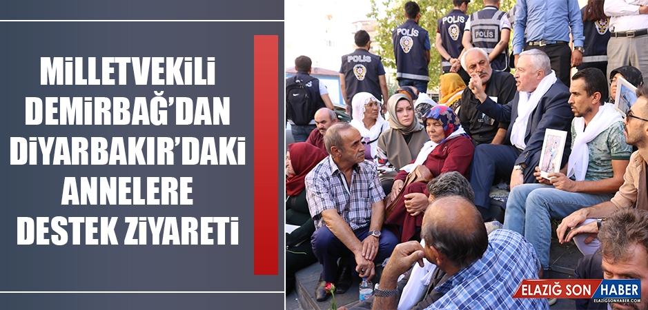 Milletvekili Demirbağ'dan Diyarbakır'daki Annelere Destek Ziyareti
