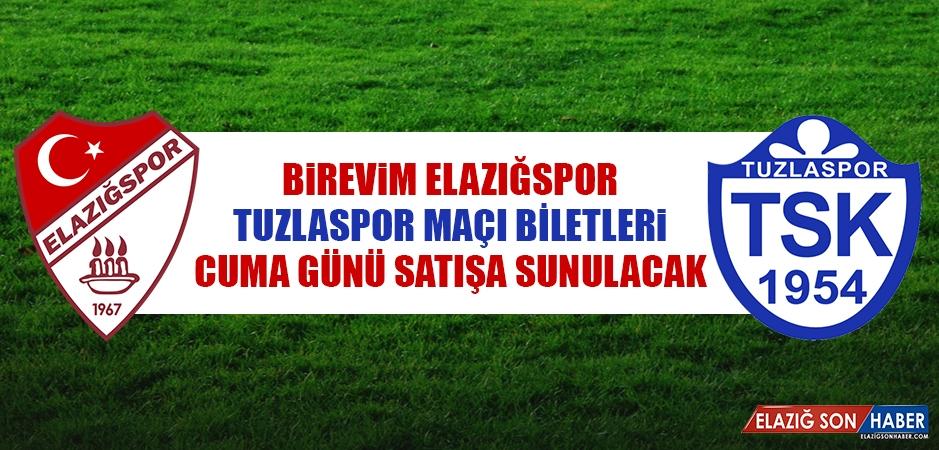 Tuzlaspor Maçı Biletleri Cuma Günü Satışa Sunulacak
