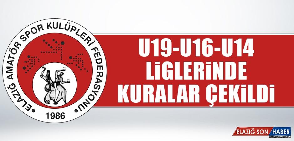 U19-U16-U14 Liglerinde Kuralar Çekildi
