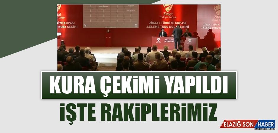 Ziraat Türkiye Kupası 3. Eleme Turu Kura Çekimi Yapıldı