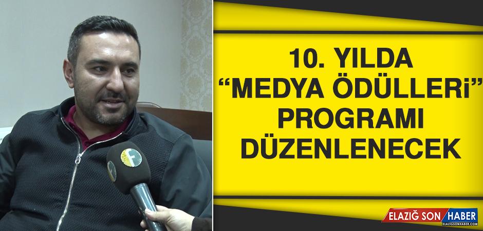 """10. Yılda """"Medya Ödülleri"""" Programı Düzenlenecek"""
