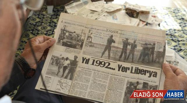 """42 yıldır """"acı haber"""" kupürü biriktiriyor"""