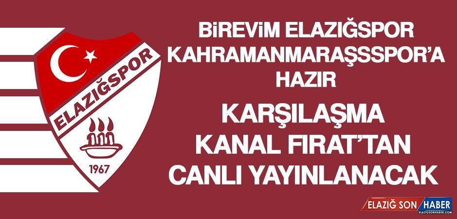B.Elazığspor, K.Maraşsspor'a Hazır
