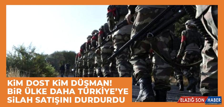 Bir Ülke Daha Türkiye'ye Silah Satışını Durdurdu