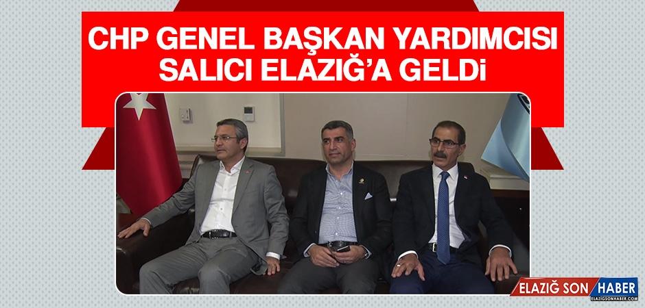 CHP Genel Başkan Yardımcısı Salıcı Elazığ'a Geldi