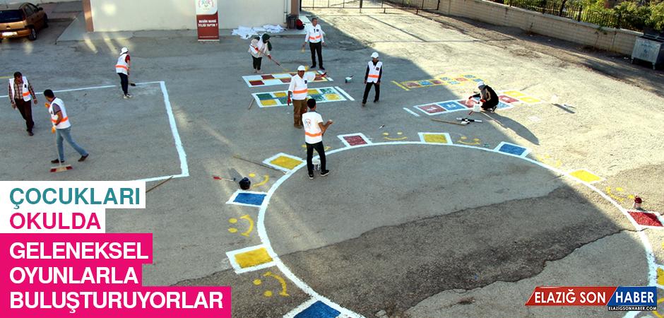 Çocukları Okulda Geleneksel Oyunlarla Buluşturuyorlar