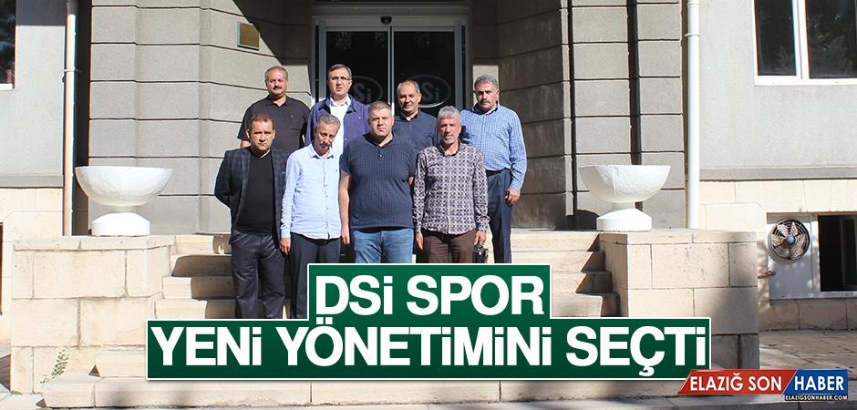 DSİ Spor Yeni Yönetimini Seçti