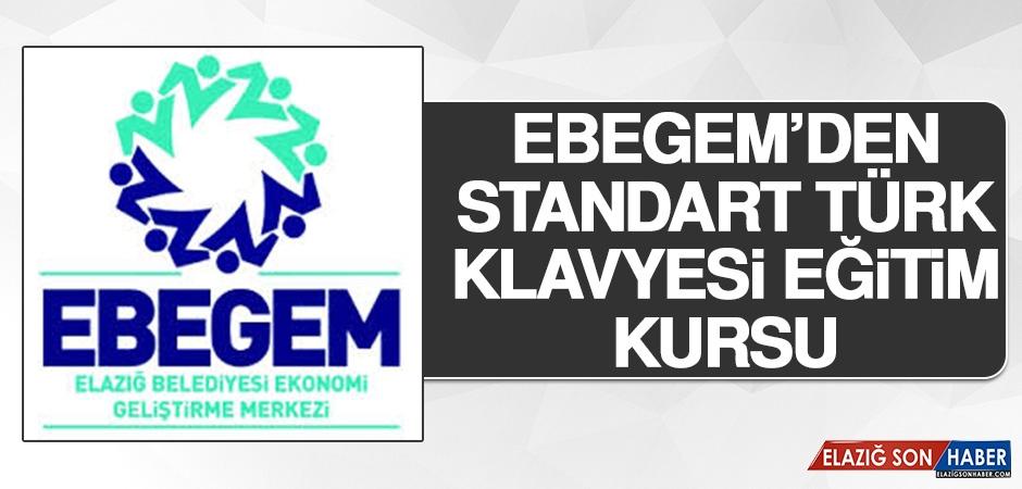 EBEGEM'den Standart Türk Klavyesi Eğitim Kursu