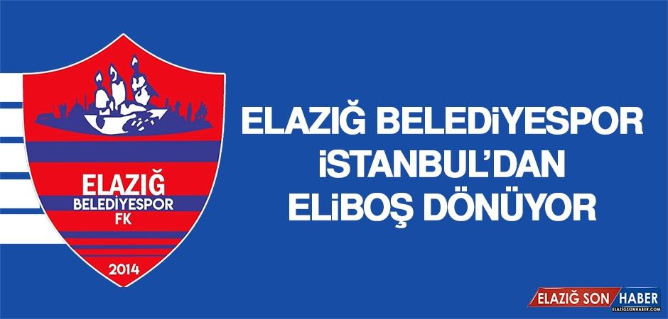 E.Belediyespor; İstanbul'dan Eliboş Dönüyor