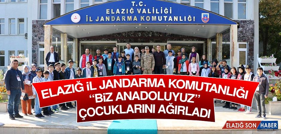 """Elazığ İl Jandarma Komutanlığı """"Biz Anadoluyuz"""" Çocuklarını Ağırladı"""
