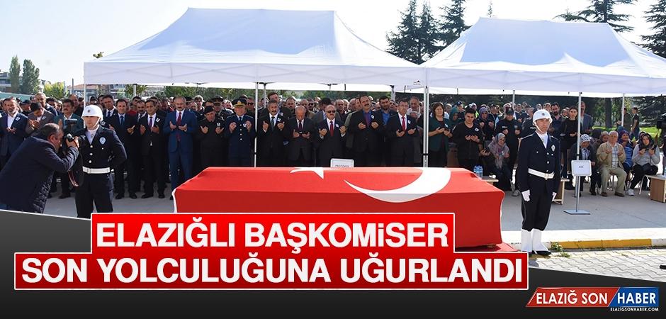 Elazığlı Başkomiser Son Yolculuğuna Uğurlandı
