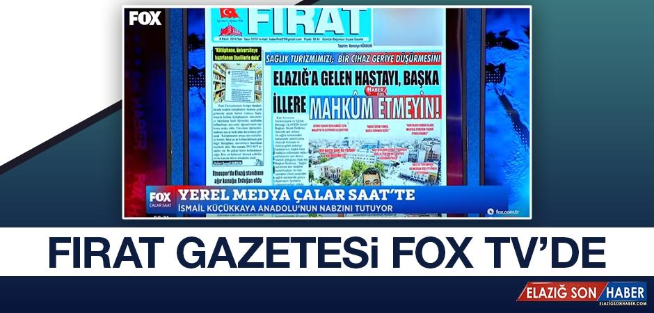 Fırat Gazetesi FOX TV'de