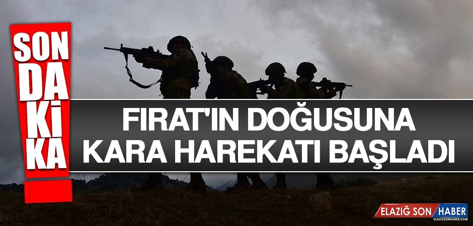 Fırat'ın Doğusuna Kara Harekatı Başladı
