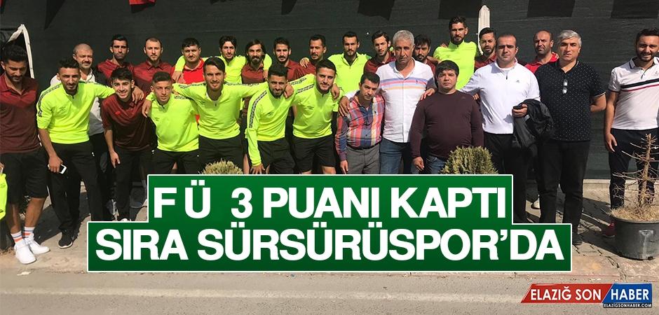 FÜ 3 Puanı Kaptı, Sıra Sürsürüspor'da