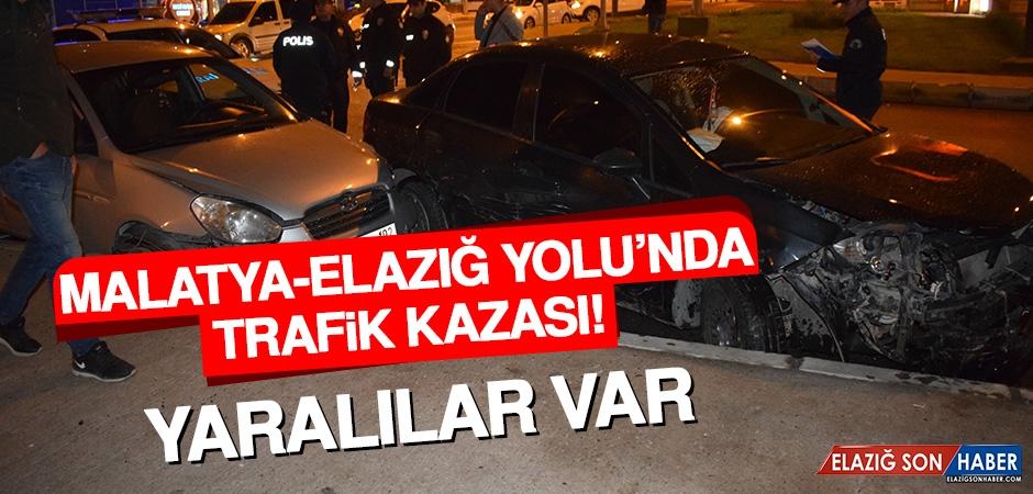 Malatya-Elazığ Yolu'ndaki Kazada Yaralılar Var