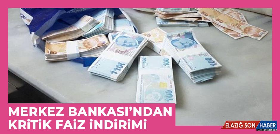 Merkez Bankası'ndan Kritik Faiz İndirimi