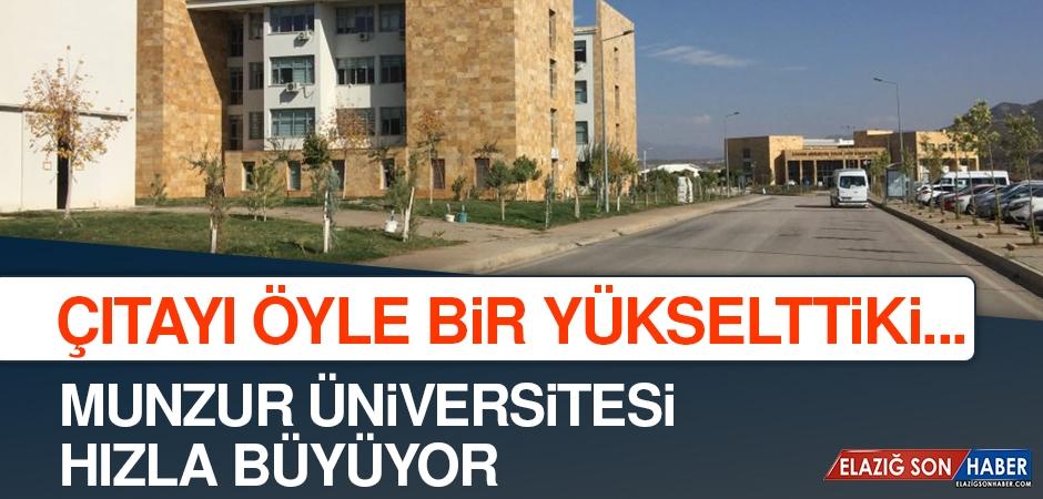 Munzur Üniversitesi'nin Türkiye Sıralaması Takdir Topladı