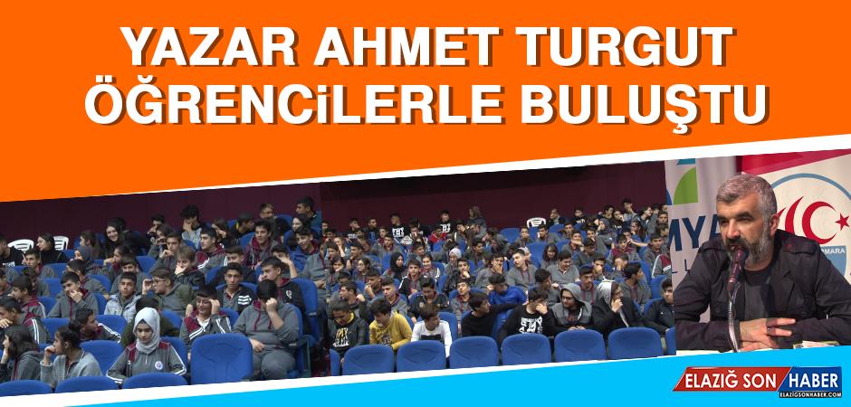 Yazar Ahmet Turgut, Öğrencilerle Buluştu