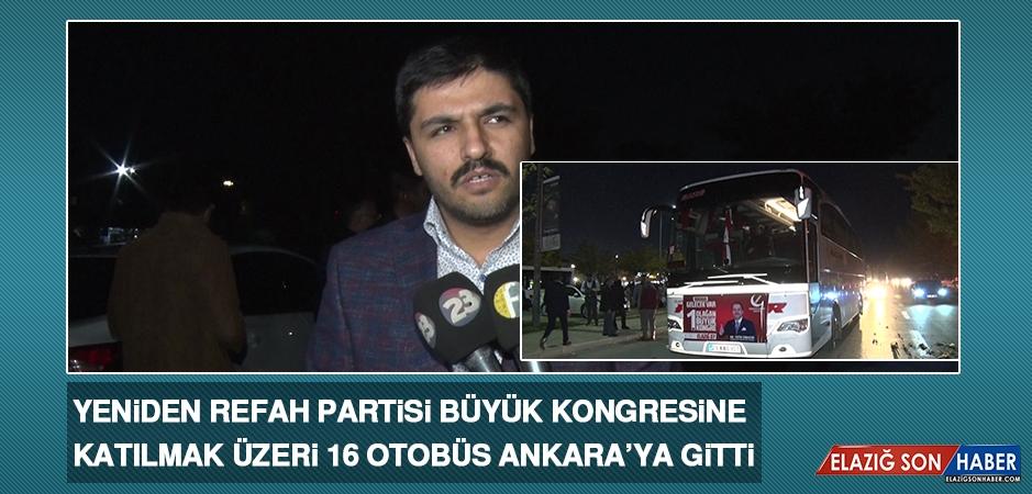 16 Otobüs,Ankara'ya Gitti