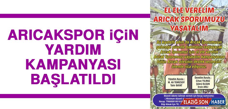 Arıcakspor İçin Yardım Kampanyası Başlatıldı