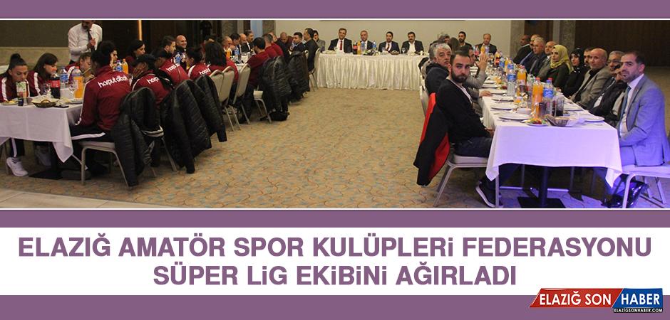 Elazığ ASKF Süper Lig Ekibini Ağırladı